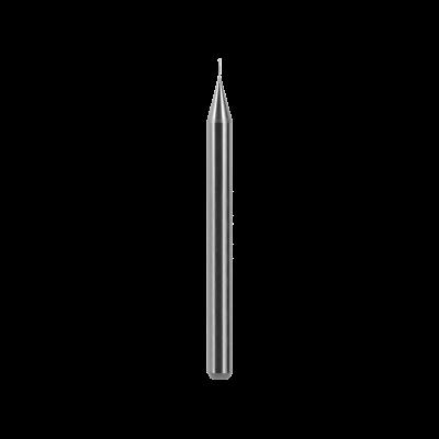 Kugelfräser, Schaft Ø 4 mm (PMMA, Thermoplast, PEEK, PEKK, Wachs, andere Kunststoffe) Ø 0,3 mm, FS 2