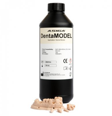 ASIGA® DentaMODEL, 1000 g