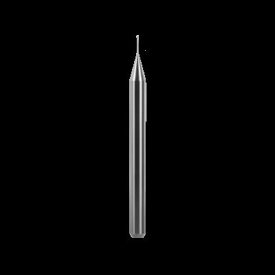 Kugelfräser, Schaft Ø 4 mm (Zirkonoxid, Sintermetall) Ø 0,5 mm, FS 4