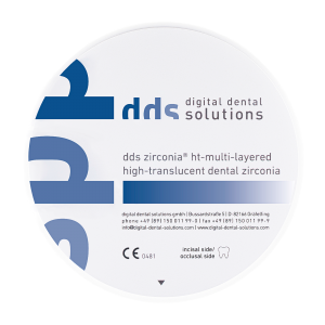 dds zirconia® ht-multi-layered