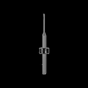 Kugelfräser (PMMA, Thermoplast, PEEK, PEKK, Wachs, andere Kunststoffe) Ø 1,0 mm, FS 14, 2 Schneiden