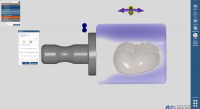 dds dentalCAD inCAD nesting module